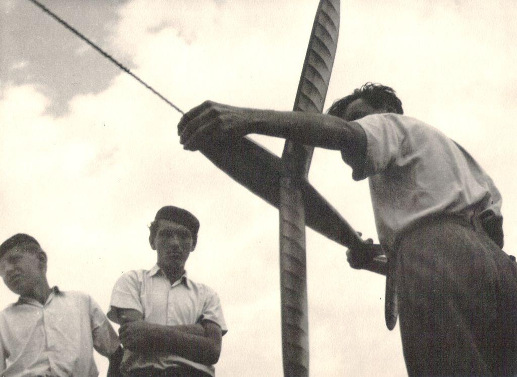JJ-47 a Jaromír Jančařík - Celostátní modelářská soutěž - Vajnory 1947