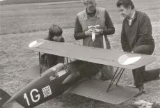 Zdeněk Bedřich, Zálet makety Avia B.534, Medlánky 1985