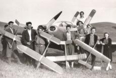 Modeláři TOS Kuřim, 1950