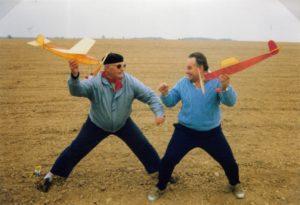 Podzim 1992 - inscenovaný souboj s Česlavem Rakem